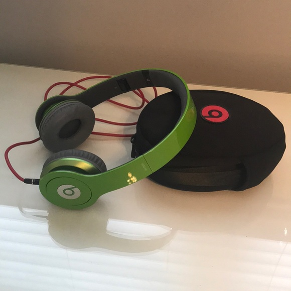 Beats By Drdre Accessories Lime Green Solo Hd Beats By Drdre
